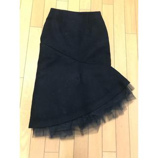 ルシェルブルー(LE CIEL BLEU)のルシェルブルー 膝丈スカート(ひざ丈スカート)