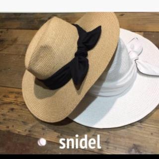スナイデル(snidel)のスナイデル 麦わら帽子(麦わら帽子/ストローハット)