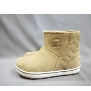 ソレル(SOREL)のソレル SOREL 靴 ショートブーツ 合皮 ブラウン レディース キルティング(ブーツ)