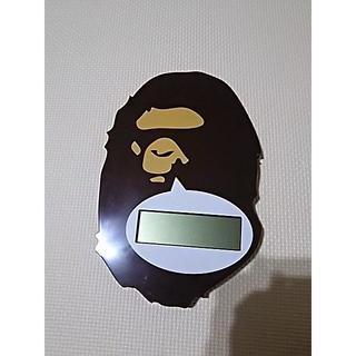 アベイシングエイプ(A BATHING APE)のAPE デジタル壁時計(掛時計/柱時計)