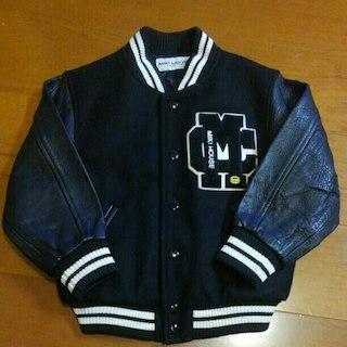 ミキハウス(mikihouse)のミキハウスコレクション スタジャン 本革 110サイズ(ジャケット/上着)