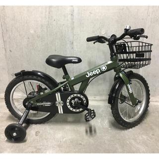 ジープ(Jeep)のJeep ジープ 子供自転車 16インチ(自転車)