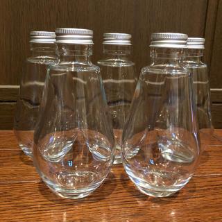 新品未使用ハーバリウム瓶しずく型5本セット(その他)