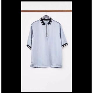 ジョンローレンスサリバン(JOHN LAWRENCE SULLIVAN)のLITTLEBIG 18ss ポロシャツ grey 新品未使用(ポロシャツ)