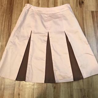 ニジュウサンク(23区)のELLE PLANETE 切り替えスカート(ひざ丈スカート)