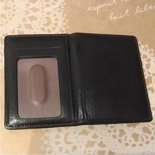 CYPRIS レザー カードケース パスケース 定期入れ