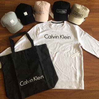 カルバンクライン(Calvin Klein)のカルバンクライン トレーナー、帽子、トートバックセット(スウェット)