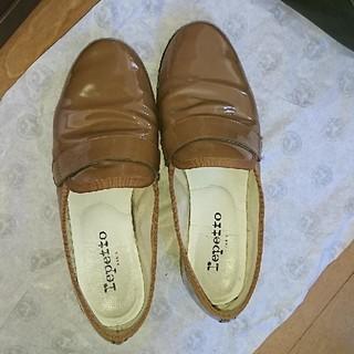 レペット(repetto)のレペットマイケル キャメル色36サイズ(ローファー/革靴)