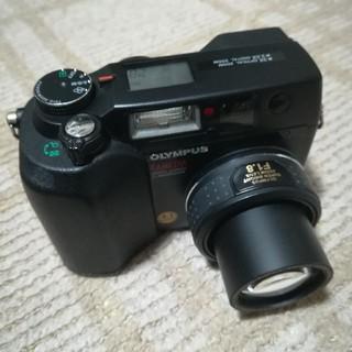オリンパス(OLYMPUS)のオリンパス C4040  F1.8 水中ケース付き(コンパクトデジタルカメラ)