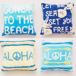 ロンハーマン(Ron Herman)のパイル クッション カバー aloha 🤙(クッションカバー)