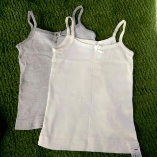 ムジルシリョウヒン(MUJI (無印良品))の無印良品 女の子 肌着 キャミソール 90 2枚セット(下着)