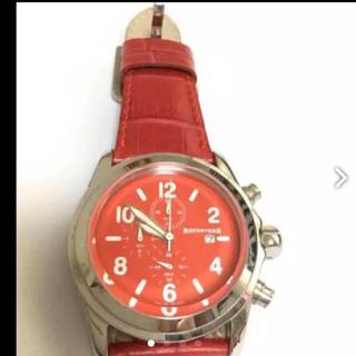 フランフラン(Francfranc)のイタリア 時計  モデル 超美品(ラバーベルト)