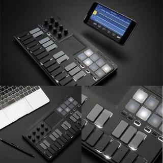 コルグ(KORG)の【値下げ】KORG nanoKEY Studio 箱 取説 ソフトウェア付き(MIDIコントローラー)