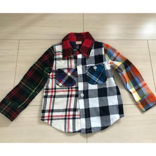 ニードルワークスーン(NEEDLE WORK SOON)のOFFICIAL TEAM    チェックシャツ(Tシャツ/カットソー)