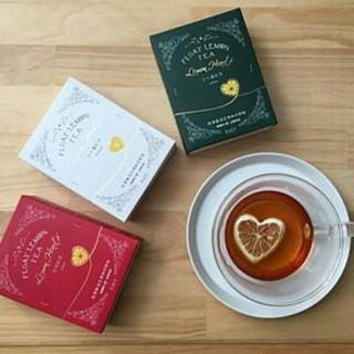 【くれーぷ様御専用】♥ハート型のドライレモンが入った♥月ヶ瀬紅茶(茶)
