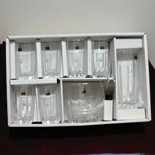 トウヨウササキガラス(東洋佐々木ガラス)の【新品】グラス アイスペール 水さしセット(グラス/カップ)
