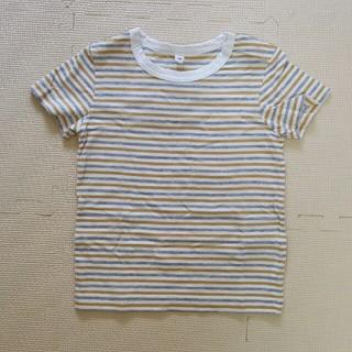 ムジルシリョウヒン(MUJI (無印良品))の【新品】無印良品 MUJI Tシャツ ボーダー 90cm(Tシャツ/カットソー)