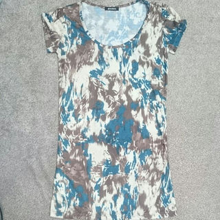 ファンキーフルーツ(FUNKY FRUIT)の柄々ロングTシャツ(Tシャツ(半袖/袖なし))