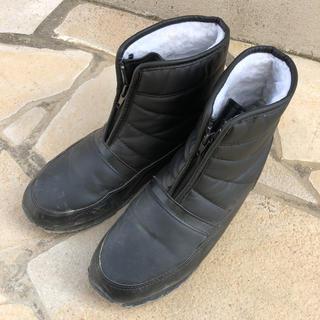シンプル黒ブーツ(ブーツ)