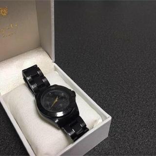 アガット(agete)の腕時計 agete 【黒】(腕時計)