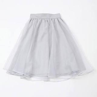 ワンアフターアナザーナイスクラップ(one after another NICE CLAUP)のワンアフターアナザーナイスクラップ♡オーガンジースカート(ミニスカート)