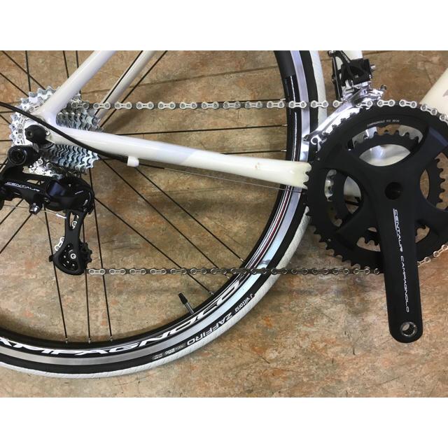 (冬SALE)【DEROSA FEDEケンタウル仕様44サイズ】身長160cm~ スポーツ/アウトドアの自転車(自転車本体)の商品写真