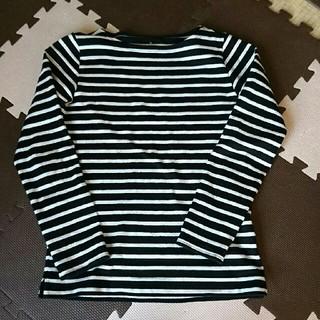 ムジルシリョウヒン(MUJI (無印良品))の専用です。Tシャツ ボーダー Mサイズ 無印良品(Tシャツ(長袖/七分))