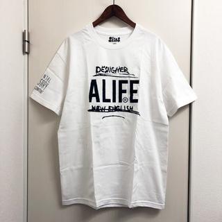 エーライフ(ALIFE)のALIFE x DESIIGNER Tシャツ サイズL(Tシャツ/カットソー(半袖/袖なし))
