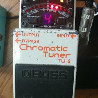 BOSS Chromatic Tuner TU-2(その他)