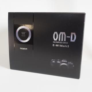 オリンパス(OLYMPUS)の美品 OLYMPUS OM-D E-M1 Mark Ⅱ ボディ バッテリー4個付(ミラーレス一眼)