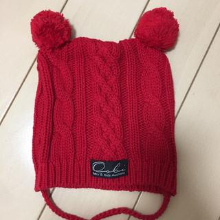 ウーヴィーベビー(Oobi BABY)のOobi baby♡ニット帽子 2歳(帽子)