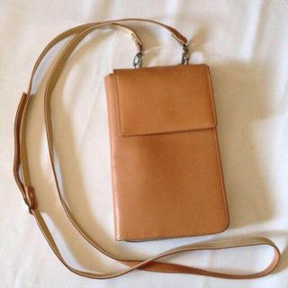 ムジルシリョウヒン(MUJI (無印良品))のナメシ本革 マルチ長財布 未使用品(財布)