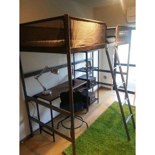 イケア(IKEA)のロフトベッド(ロフトベッド/システムベッド)