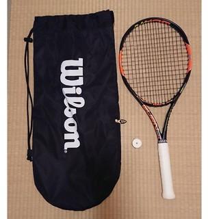 ウィルソン(wilson)の【anz様専用】テニスラケット ウィルソンバーン100S(ラケット)