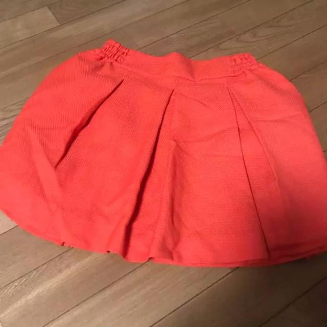 LOWRYS FARM(ローリーズファーム)のスカート オレンジ ローリーズファーム レディースのスカート(ミニスカート)の商品写真