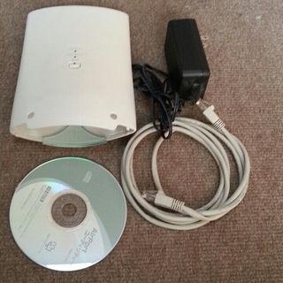 アイオーデータ(IODATA)の無線ルータ IODATA AIRPORT WN-G300DR(PC周辺機器)
