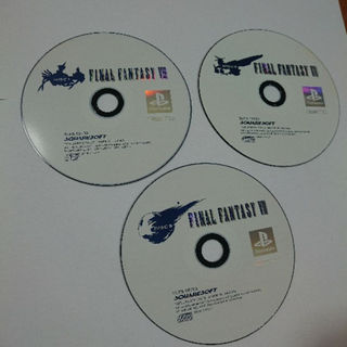 プレイステーション(PlayStation)の【プレステ用ソフト】ファイナルファンタジー7(家庭用ゲームソフト)