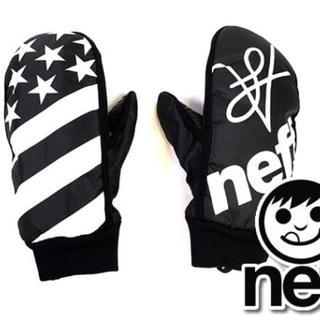 ネフ(Neff)の在庫処分 ミトン グローブ スノーボード スキー neff 新品  星条旗(アクセサリー)