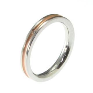 ヴィー(vie)のVie リング ピンク(リング(指輪))
