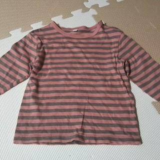 ムジルシリョウヒン(MUJI (無印良品))の長袖Tシャツ  サイズ90㎝(Tシャツ/カットソー)