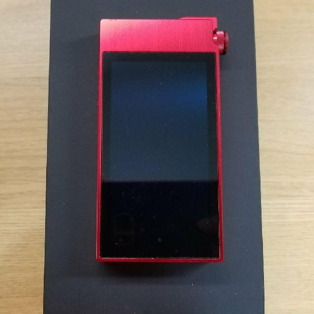iriver(アイリバー)のAK100Ⅱ Type-S Red Hot Astell&Kern ハイレゾ スマホ/家電/カメラのオーディオ機器(ポータブルプレーヤー)の商品写真