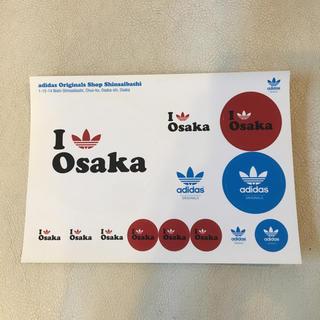 アディダス(adidas)の■ラスト!adidas Originals 大阪ステッカー ノベルティ 非売品■(ノベルティグッズ)