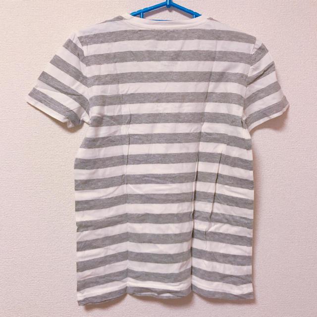 MUJI (無印良品)(ムジルシリョウヒン)のボーダーTシャツ 無印良品 レディースのトップス(Tシャツ(半袖/袖なし))の商品写真