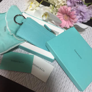 ティファニー(Tiffany & Co.)の新品未使用  正規品  ティファニー キーリング付きコインケース(コインケース)