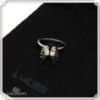 【新品】[LUCIEN] リング ANGELICA スノーシルバー L(リング(指輪))