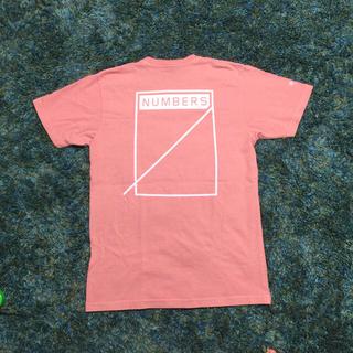 ロンハーマン(Ron Herman)の本日専用 ピンク サイズM RHC × Numbers 別注 Tシャツ(Tシャツ/カットソー(半袖/袖なし))