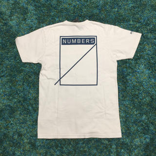 ロンハーマン(Ron Herman)の本日専用 白 サイズM RHC × Numbers 別注 Tシャツ(Tシャツ/カットソー(半袖/袖なし))
