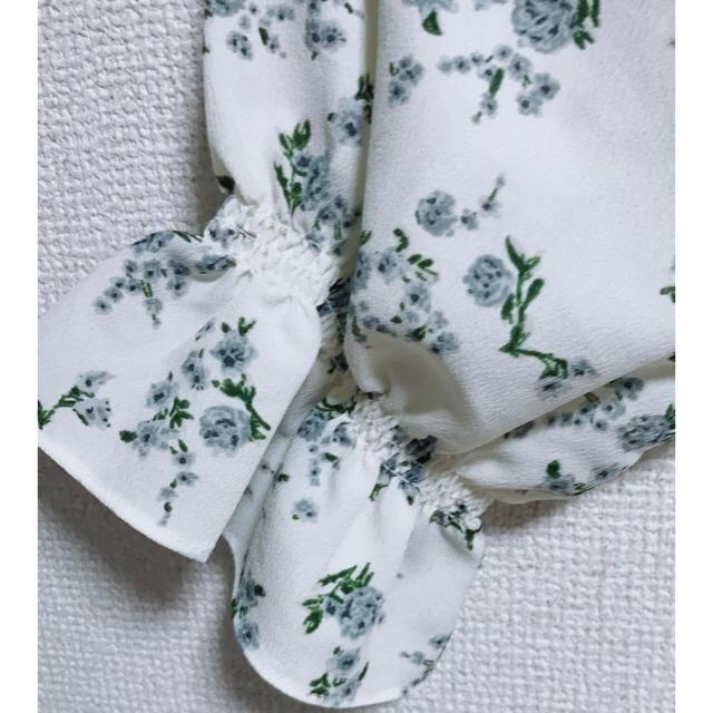 GU(ジーユー)の花柄ブラウス レディースのトップス(シャツ/ブラウス(長袖/七分))の商品写真