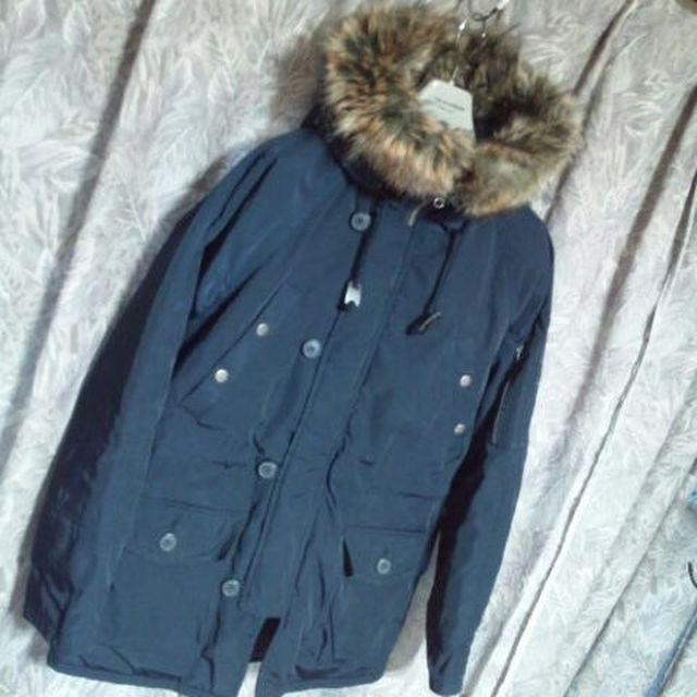GU(ジーユー)のGU中綿入ミリタリージャケット Nー3B APCロンハーマンZARAユニクロ メンズのジャケット/アウター(モッズコート)の商品写真