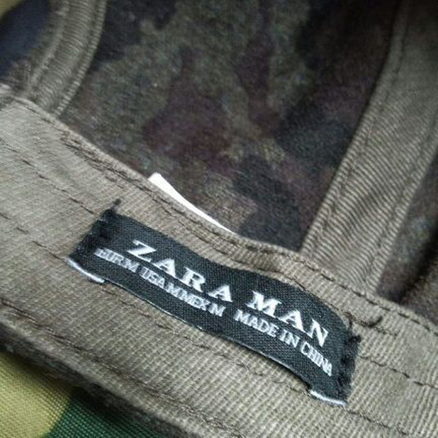 ZARA(ザラ)のZARA MAN迷彩柄ウールキャップ ロンハーマンyeezyユニフエルビラ メンズの帽子(その他)の商品写真